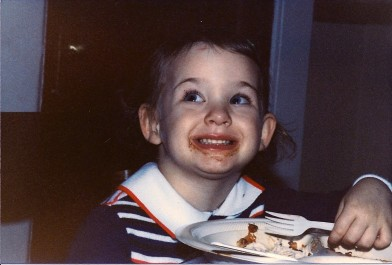 My love of cake started very young with ice cream cakes from Carvel.