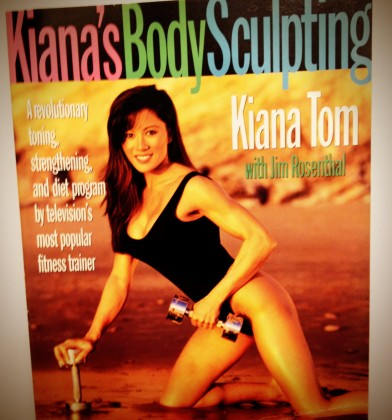 Kiana Tom, my first weight-lifting guru. Courtesy of Obi-wan, of course.