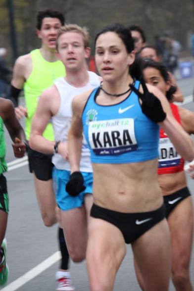 Kara's fast, yo. (Image courtesy of EricaSara.com)