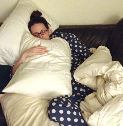 No husband? Give me all the pillows then.