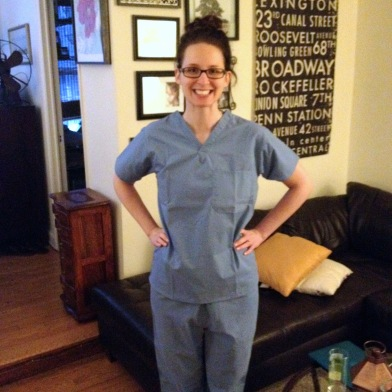 Just 'cuz I wear the scrubs doesn't mean I treat myself. I have a whole list of professionals I see for my bod.