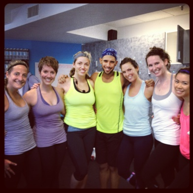 Working out with awesome friends helps A TON when working your way back after a layoff.