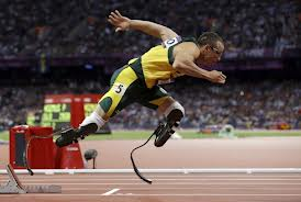 "Oscar ""The Bullet"" Pistorius seems like an eerie nickname now. (Image courtesy of the Washington Post)"