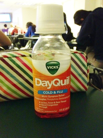 This first week of school is brought to you by DayQuil.