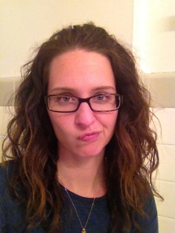I have looked like  a crazy person for approximately a month. Don't mind me and my frizzy hair.