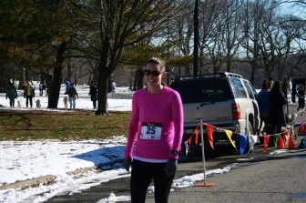 God, I hate 5Ks. But, here I am at the finish line, clearly not dead. Guess I'll have to do another one.