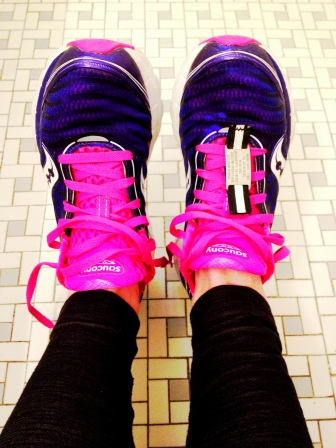 Also, pretty shoes = faster runner. Ok, I made that up BUT pretty shoes ARE more fun to wear.