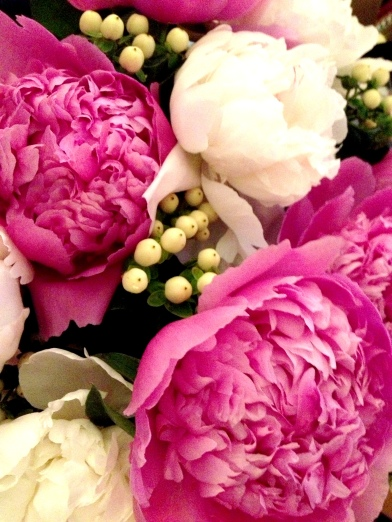 I not-so-subtlety hint that peonies are in season to JB every year.