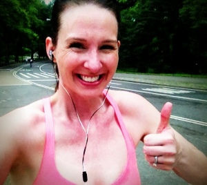 Running is fun, I swear. Ok, not AS fun in the hot, steamy Summer, but you gotta do what you gotta do.