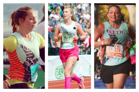 Just a few of the Oiselle Ambassadors in my world :)