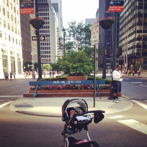 Summer Streets with a 2 month old? Sweet!